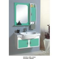 China hung  cabinet / PVC bathroom vanity / wall cabinet / whitecolor for bathoom kitchen 80 X49/cm on sale