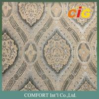 470GSM Jacquard Chenille Upholstery Fabric for Sofa Curtain and Funiture Manufactures