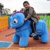 China Hot Sale Coin Operated Walking Animal Rides for Mall, Wholesale Ride On Animal Toys on sale
