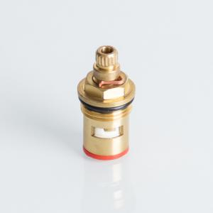 China 4# Yellow 18*15mm 2MPa Brass Faucet Cartridge on sale