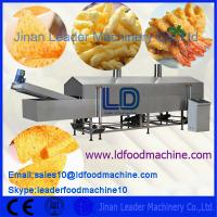 China Multi Functional Food Processing Machinery / Automatic Snack Frying Machine on sale