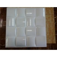 China Light Weight 3D PVC Wall Panels Acrylic / Plastic Material For Interior Easy Installation on sale