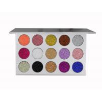 Accept Private Label 15 Color High Pigment Waterproof Fashion Glitter Eyeshaow Palette Manufactures
