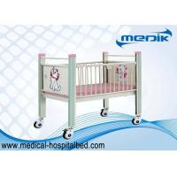 Home Care Pediatric Hospital Beds With Enameled Steel Platform Manufactures