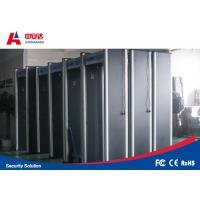 33 Zone Door Frame Gold Metal Detectors Security Gate With Low Power Consumption Manufactures