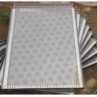 Metal Perforated Wire Basket Cable Tray , Stainless Steel Baking Sheet For Food Processing Manufactures