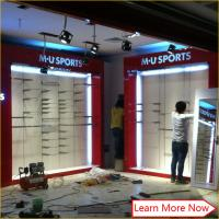 China Impressive Design Ideas For Clothes Fashion Clothing Store with stainless steel rack on sale