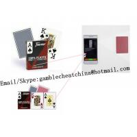 China Fournier 2800 plastic bar code marked playing cards/poker scanner/gamble cheating device/Texas Hold'em poker analyzer on sale