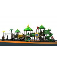 Customized Yard Play Equipment With Anti UV Material EN1176 Standard Manufactures