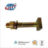 China Square Head Bhon Track Bolt with Nut and Washer on sale