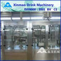 China Aseptic Hot Drink Water / Fruit Juice Filling Machine For Can / Bottle on sale