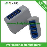 2016 brand new travel charger 4 usb wall charger Manufactures