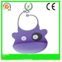 China Lovely Cute Silicone Baby Bibs for sale