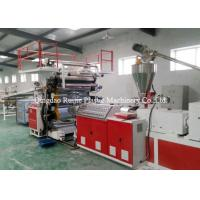 PVC Lamination Sheet Plastic Board Production Line Wind Resistance Heat Insulation Manufactures