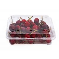 High Clear Cherry Box Disposable Plastic Fruit containers Manufactures