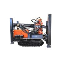 FY180/FY200 180m 200m STEEL TRACK CRAWLER WATER WELL DRILLING  machine portable water well drilling rigs deep Manufactures