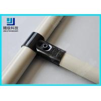 Adjustable Metal Joint for Pipe Rack , Thickness 23mm  T-Type Black Tubing Joint HJ-1 Manufactures