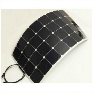 Lightweight Flexible Marine Solar PanelsBlack Frame 3% Output Power Tolerance Manufactures
