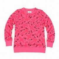 Women's Pullover with Full Sublimation Printing, Made of Poly Fleece, OEM Orders are Welcome Manufactures