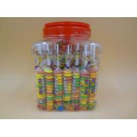 Different Shape Bottled Fruity Hard Candy Raspberry / Strawberry / Mango Candies Manufactures