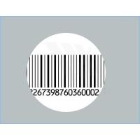 Professional Tamper Evident Barcode Security Seal Labels , Self Adhesive Manufactures