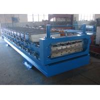 China 15m/min Metal Roofing Double Layer Roll Forming Machine For Steel Shed on sale