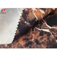 Ester Marble Printing 95 Polyester 5 Spandex Fabric Bonded With TPU Film Manufactures
