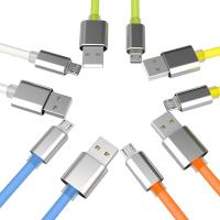 Android Device Fast Charging Micro Usb Cable , Samsung Micro Usb Charging Lead 1M Manufactures