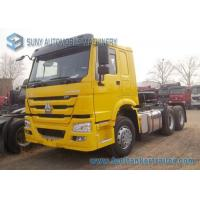 Buy cheap 6x4 Prime Mover 371 HP Sinotruk HOWO Tractor Truck HC16 Axle ISO CCC Listed from wholesalers