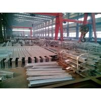 Hot Dip Galvanized Steel Structure Fabrication / Galvanized steel structure Manufactures
