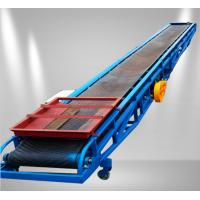 Customized Portable Adjustable Movable  Standard Belt conveyors For Grains Manufactures