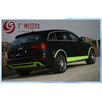 China Automotive Vinyl Wrap Matte Black For Car Color Changing 1.52m*30m on sale