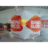 Cube balloon with four sides digital printing, Inflatable Ground Balloon for Trade show Manufactures