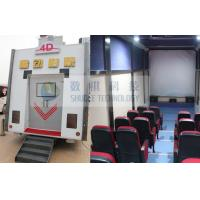 Century Theatres Xd 9D Cinema Motion Trailer With Luxury Special Effect Motion Chair Manufactures