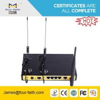 F3C30 wireless dual sim Router with 1 WAN port & 4LAN ports support TCP/IP & UDP & VPN Manufactures