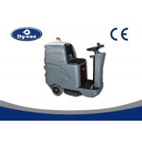 Custom Hard Floor Scrubber Machine Ground Cleaning Battery Powered 24V Voltage Manufactures