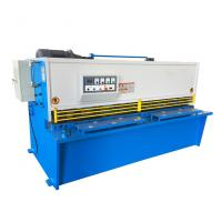 China Steel Sheet Metal Shearing Machine Metalworking Cutting ISO 9001 Certification on sale