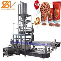 2-3t/H Pellet Fish Feed Processing Line SLG70 2000Kg - 20000 Kg Weight Manufactures