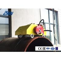 Cold Pipe Cutting And Beveling Machine Adjustable Cutting Speed Travel Cutter Manufactures