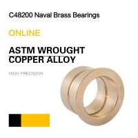 C48200 Naval Brass Bearings | ASTM Wrought Copper Alloy Bushing & Plate Manufactures