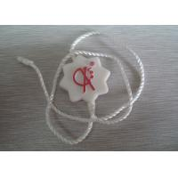 White Plastic Seal Tag Remark Waterproof Recyclable No Harmful Composition Manufactures