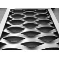 Heavy Duty Expanded Metal Grating Durable Ramps / Platforms Aluminum Flat Surface Manufactures