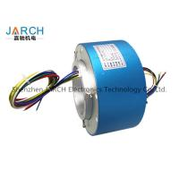 Lead free100mm through bore electrical slip ring / miniature slip ring Max speed:500RPM Manufactures