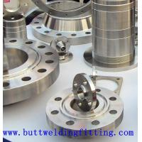 1/2 Inch - 48 Inch Forged Steel Flanges , steel pipe flange With A182 / F51 / Inconel 625 Manufactures