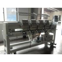 Tubular 4 Head Embroidery Machine For Caps / Leather Products 400 X 450 Mm  Manufactures