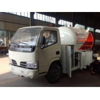 hot sale dongfeng 95HP 5500 liters lpg dispenser truck, CLW 95hp lpg gas dispensing truck Manufactures