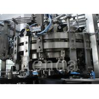 Hot Fruit Juice Can Filling Machine 2-In-1 Filling And Capping Machine 6000 BPH Manufactures