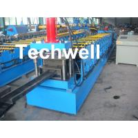 Single Side Adjustable C Purlin Roll Form Machines With Manual / Hydraulic Decoiler Manufactures