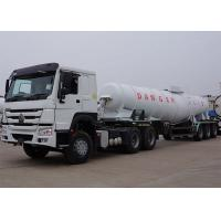 Acid Chemical Delivery Truck Strong Practicability ISO9001 Certificate  30000L Manufactures