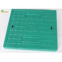 EN124 B125 Square Locking Hinged Manhole Cover Fiberglass Drainage Grating Frame Manufactures